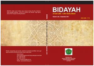 Cover Bidayah, Vol. 2, No. 3_001