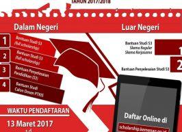 Kemenag Buka Pendaftaran Beasiswa S3