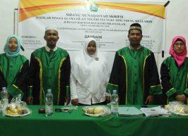 Jurusan Dakwah dan Komunikasi Islam Laksanakan Sidang Munaqasyah