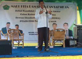 STAIN Meulaboh Gelar Debat Kandidat DEMA