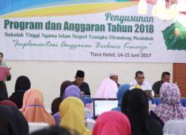 STAIN Susun Program dan Anggaran 2018