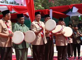 Menag Buka Perkemahan Wirakarya PT Keagamaan 2018