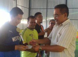 Kemenag Aceh Barat Juara Futsal HAB 73