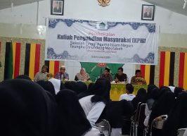 310 Mahasiswa KPM Ikut Pembekalan