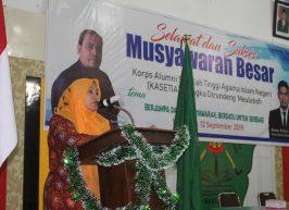 Ketua STAIN Buka Mubes Perdana Alumni STAIN Meulaboh
