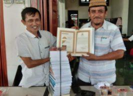 Perpustakaan STAIN Meulaboh Terima Sumbangan Buku dari Dinas Syariat Islam