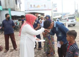UPZ STAIN Meulaboh Beri Santunan Anak Yatim Seputar Kampus