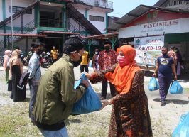 Sambut Idul Fitri, STAIN Meulaboh Melalui Gugus Tugas Covid-19 Kembali Salurkan Sembako Untuk Mahasiswa