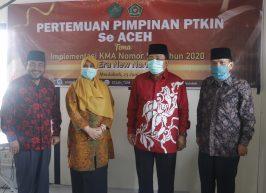 Rektor PTKIN Se-Aceh Tandatangani Dukungan Perubahan Bentuk STAIN Menjadi IAIN Meulaboh