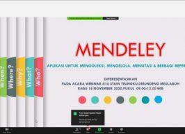 Peran Perpustakaan Dalam Pengaplikasian Mendeley