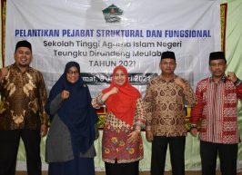 Ketua STAIN Meulaboh Lantik Pejabat Struktural dan Fungsional