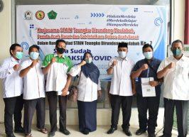 Vaksin Perdana di STAIN Meulaboh Pada Peringatan Milad ke 7